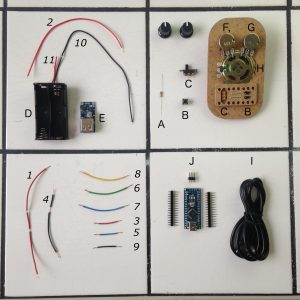 arduino, sardinebox, kit, soudure, diy